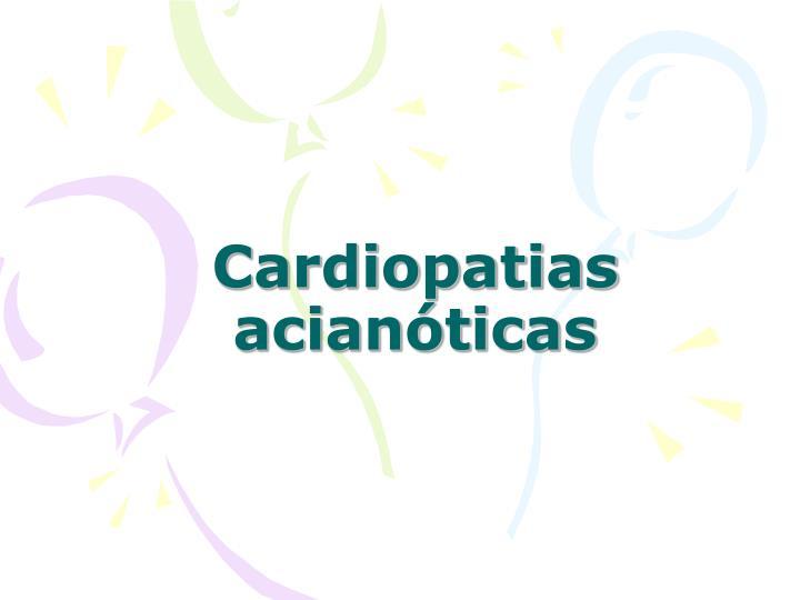 Cardiopatias acianóticas