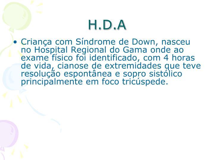 H.D.A