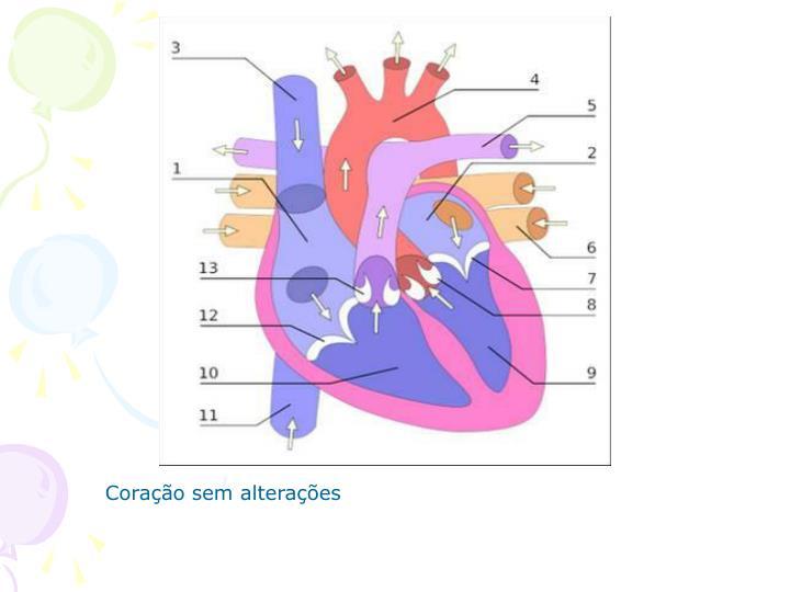 Coração sem alterações