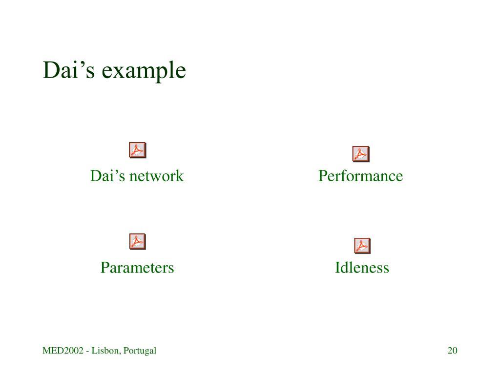 Dai's network
