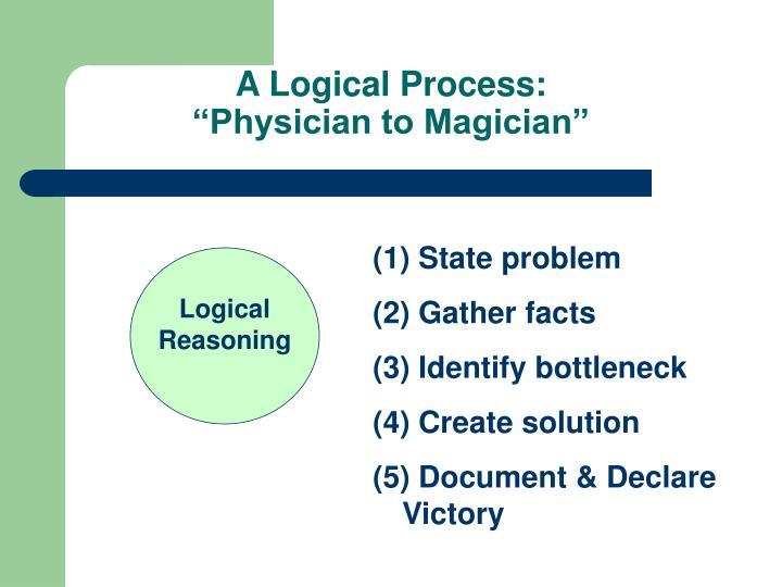 A Logical Process: