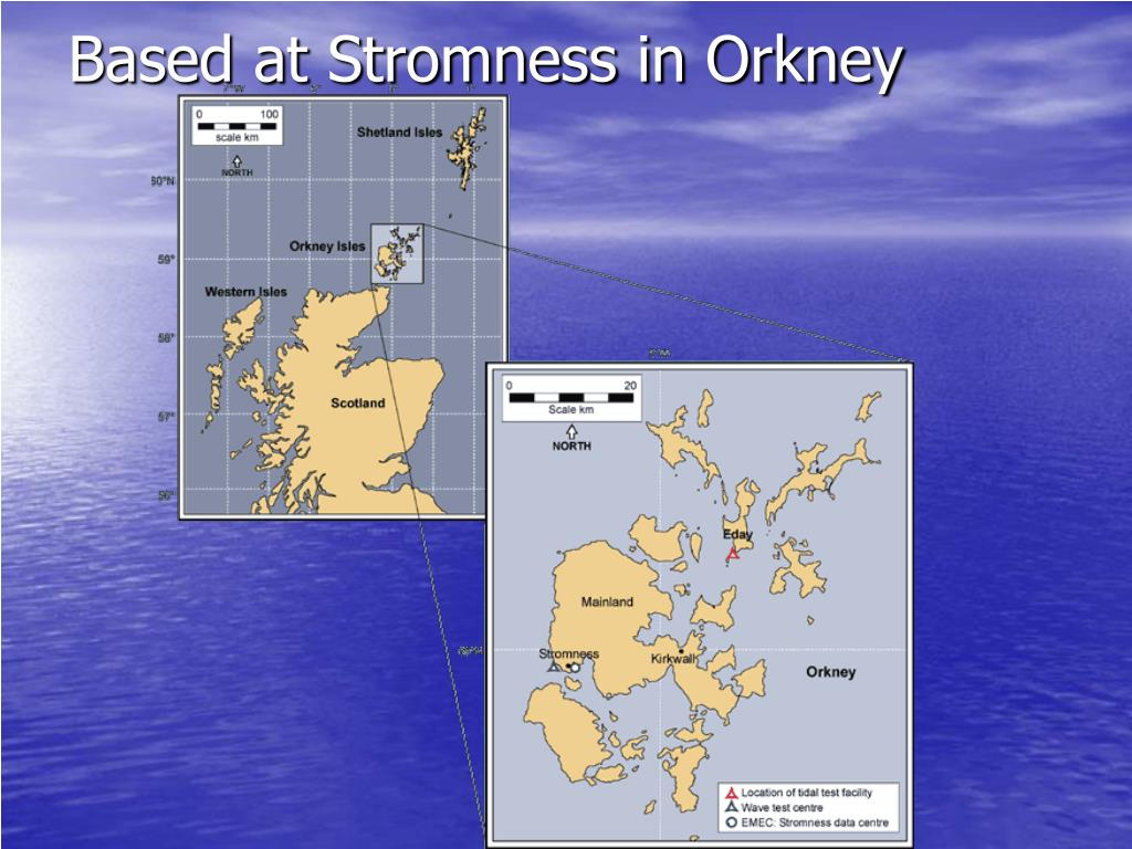 Based at Stromness in Orkney