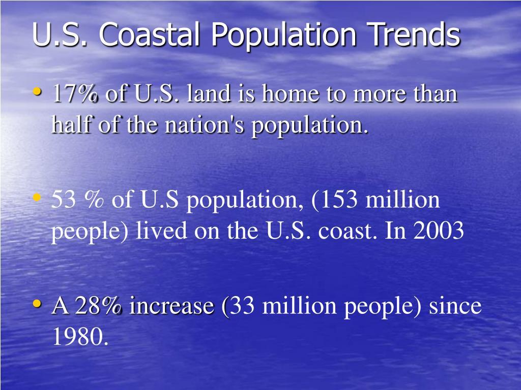 U.S. Coastal Population Trends