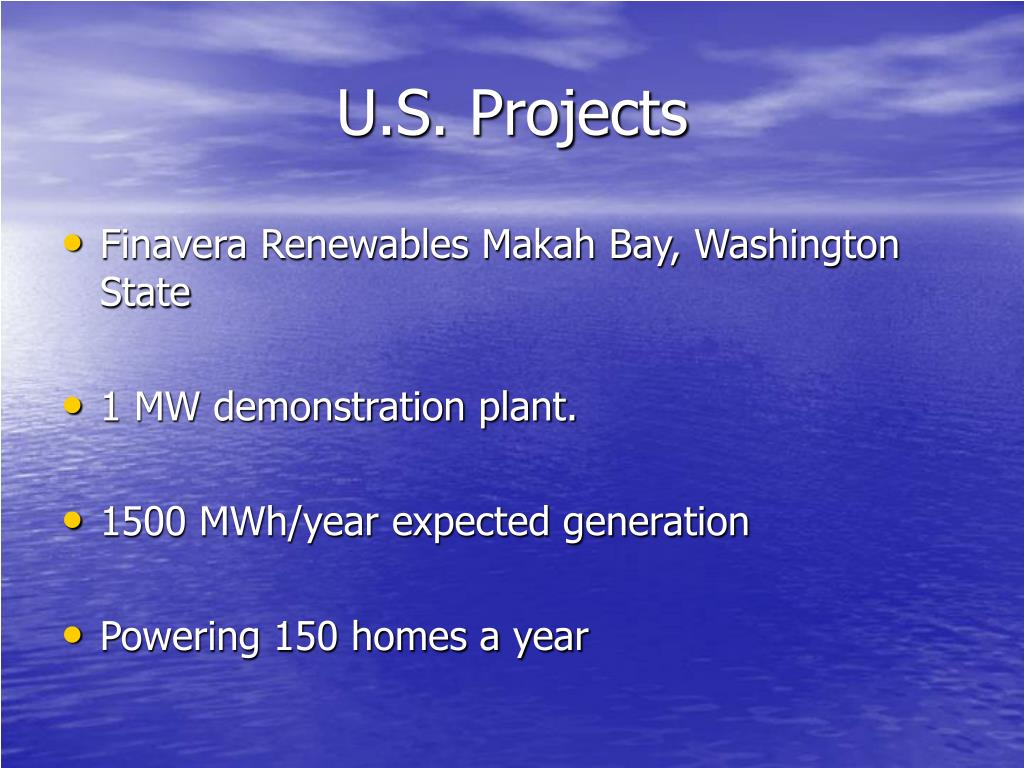 U.S. Projects