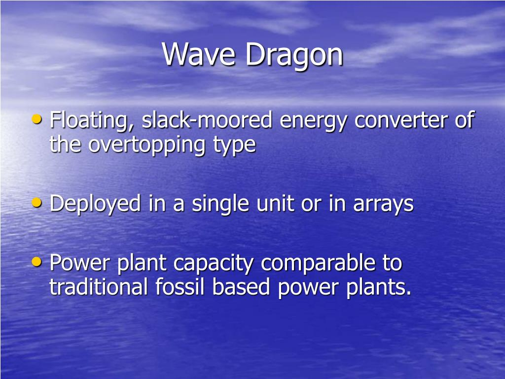 Wave Dragon