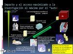 impacto y el acceso maximizado a la investigaci n al m ximo por el auto deposito