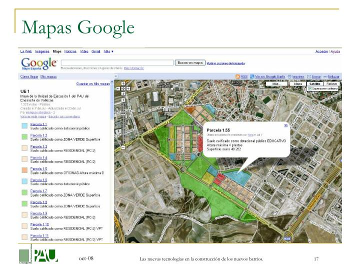 Mapas Google