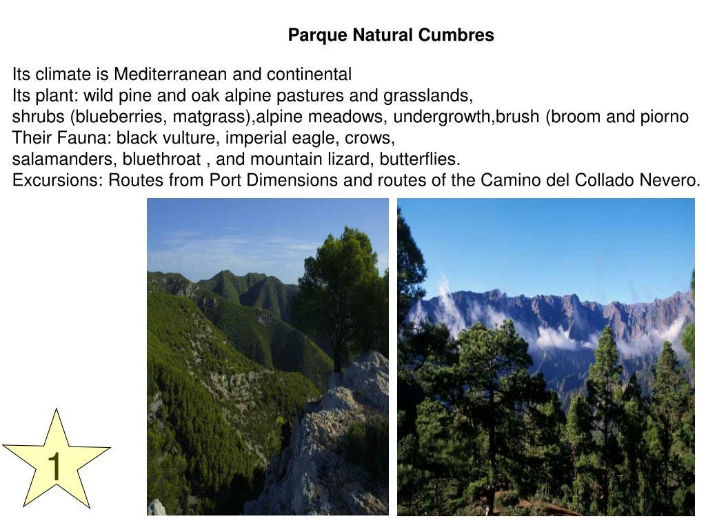 Parque Natural Cumbres