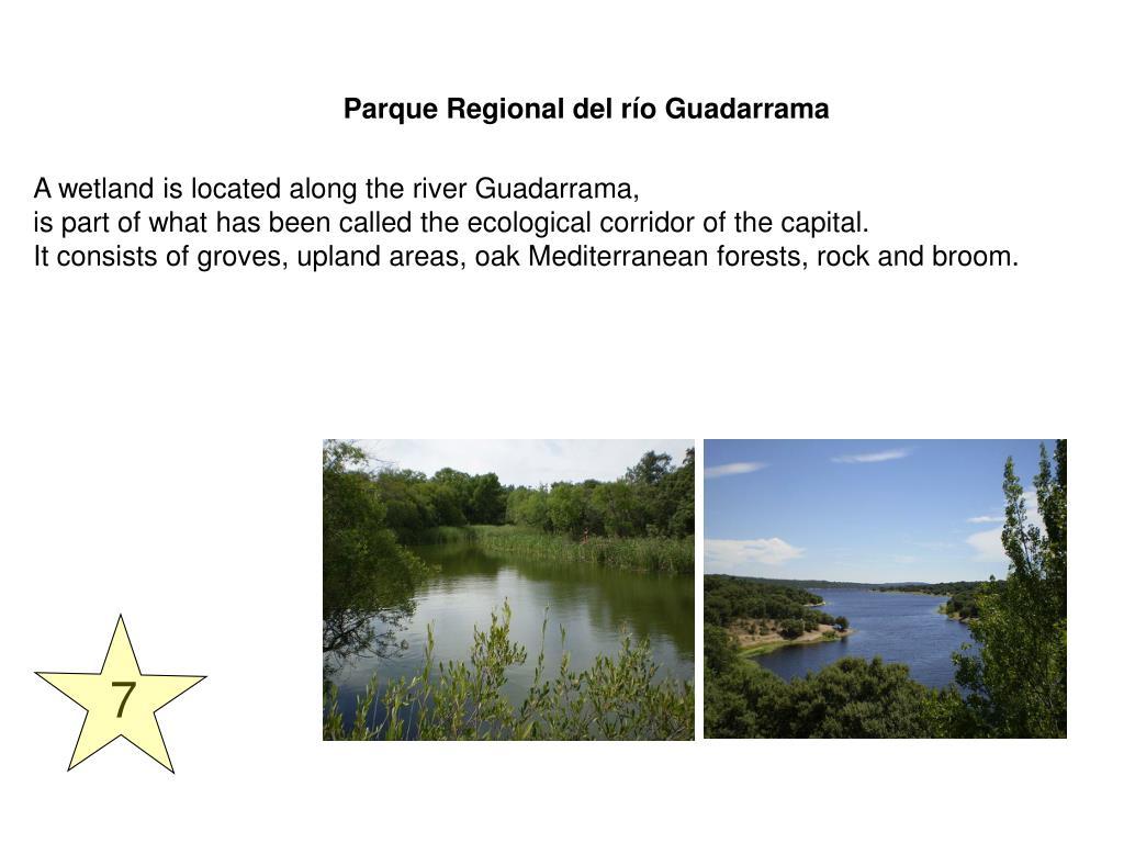 Parque Regional del río Guadarrama