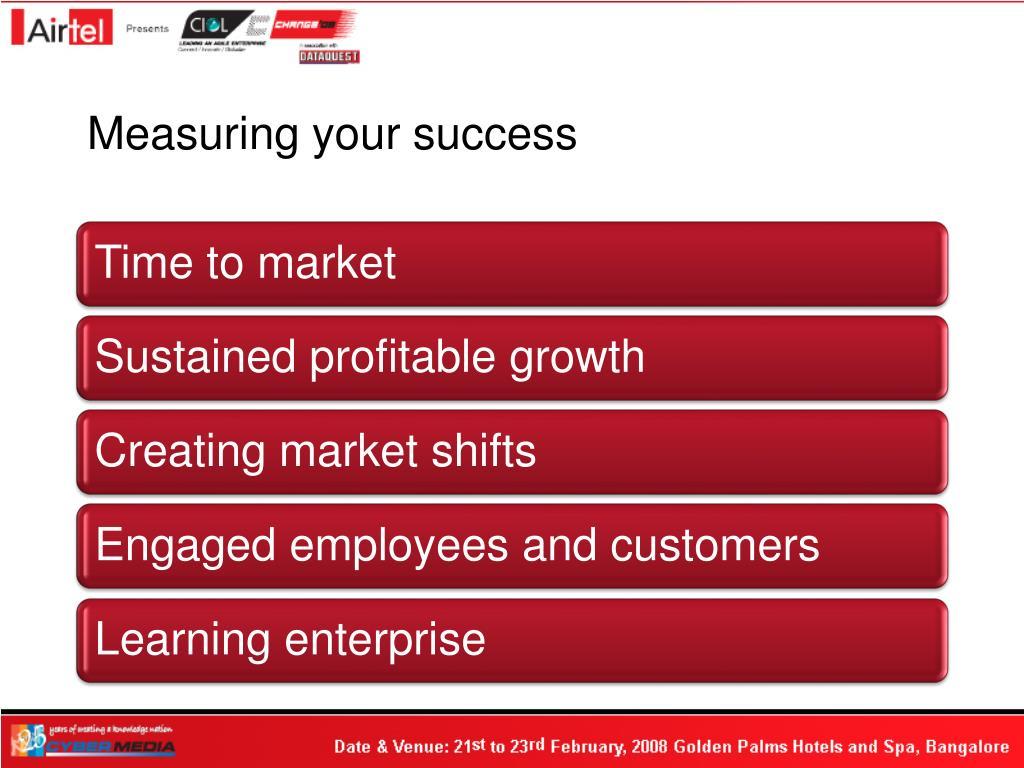 Measuring your success
