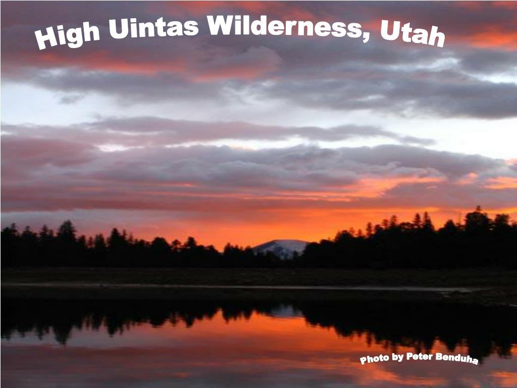 High Uintas Wilderness, Utah
