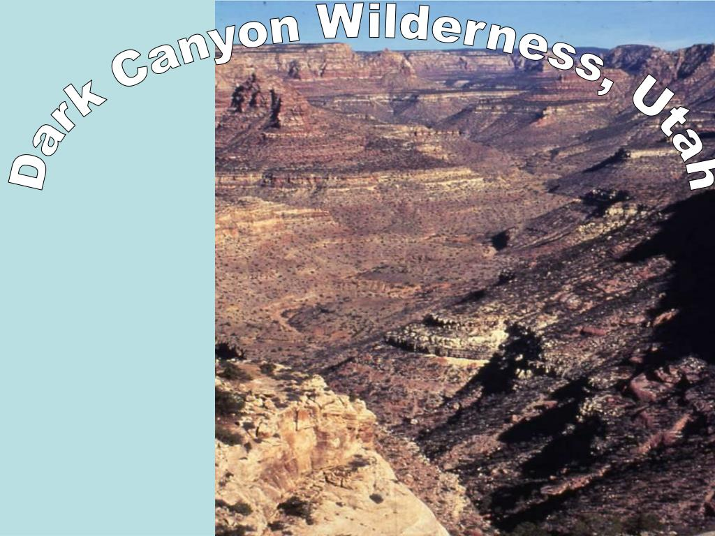 Dark Canyon Wilderness, Utah