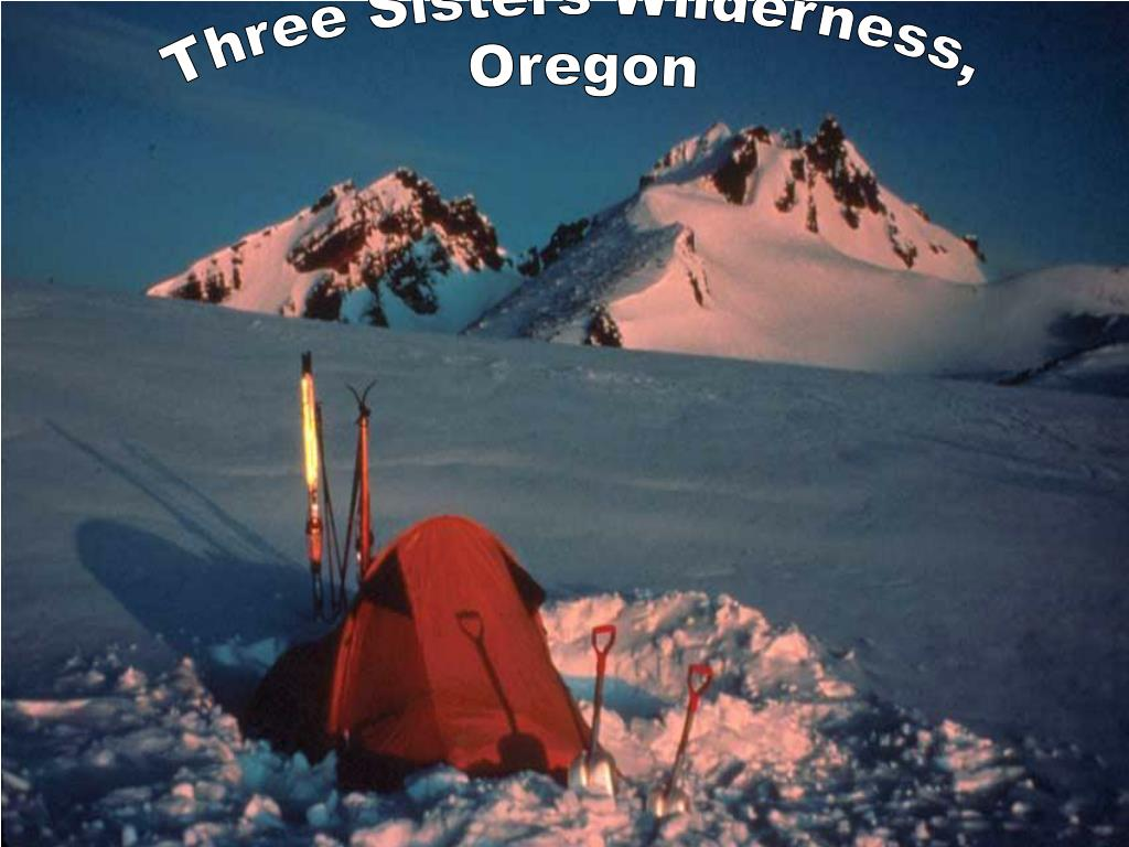 Three Sisters Wilderness,