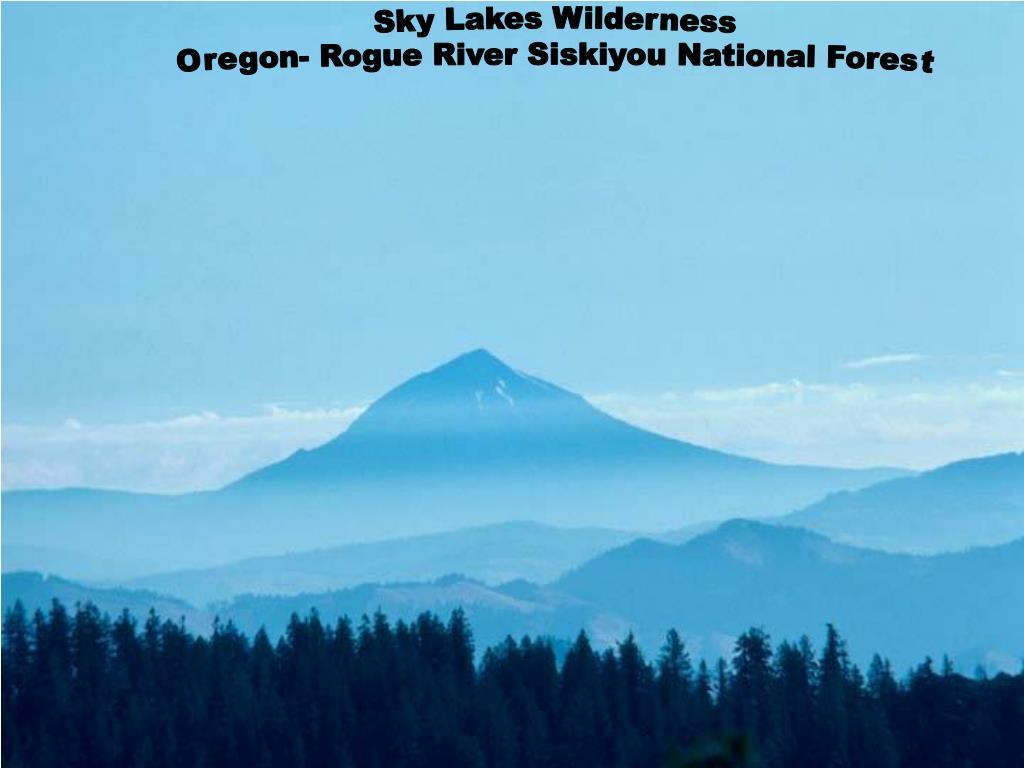 Sky Lakes Wilderness