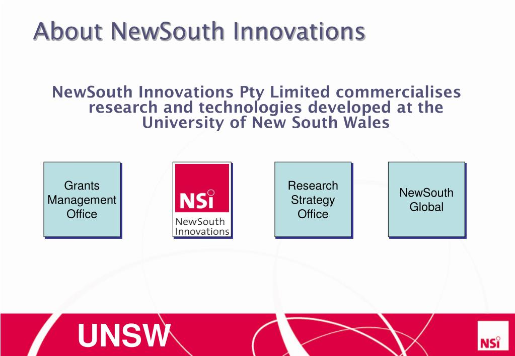About NewSouth Innovations
