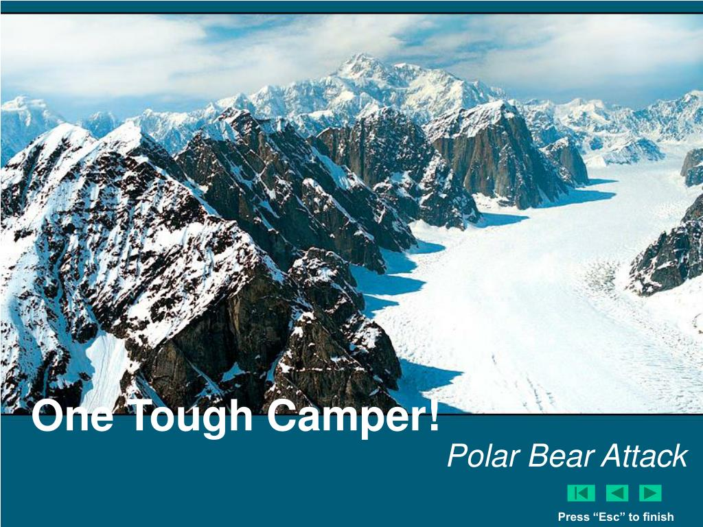One Tough Camper!