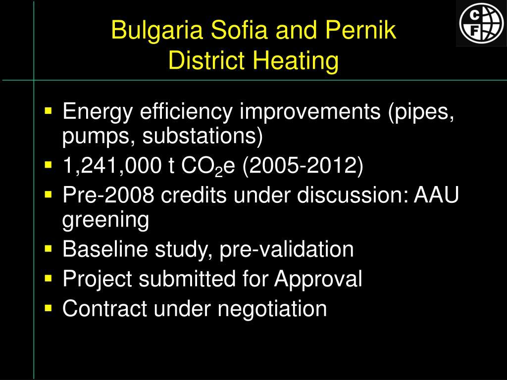 Bulgaria Sofia and Pernik