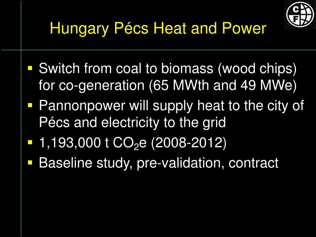 Hungary Pécs Heat and Power