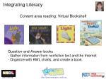 integrating literacy