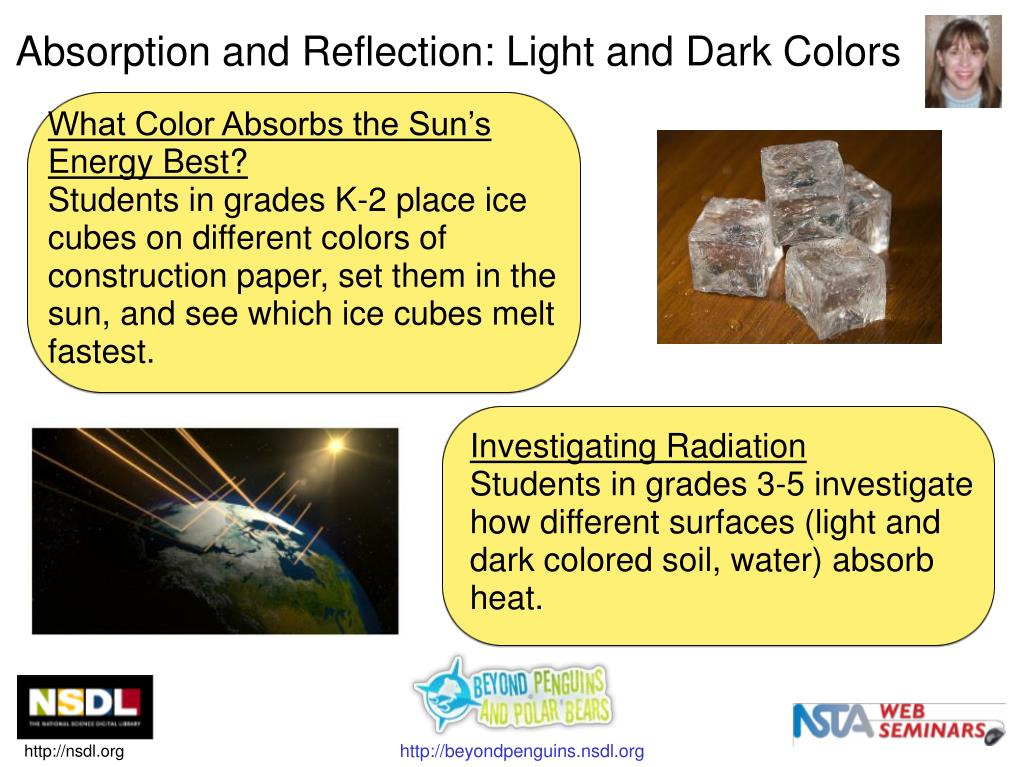 Absorption and Reflection: Light and Dark Colors