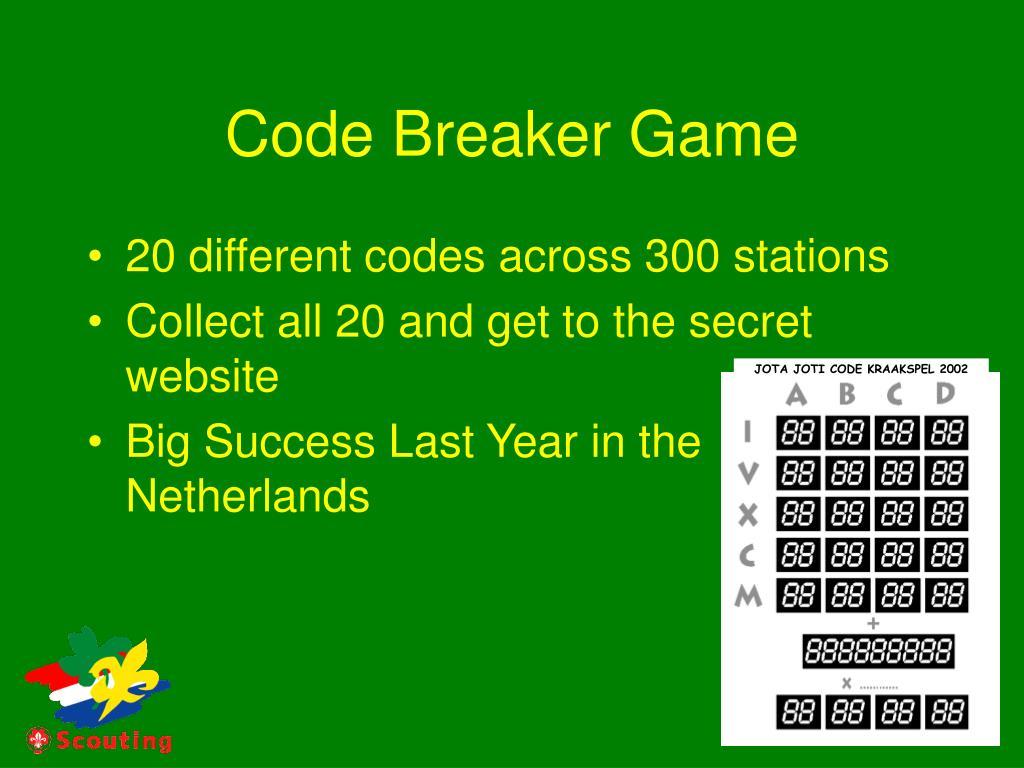 Code Breaker Game