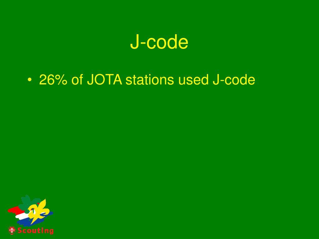 J-code