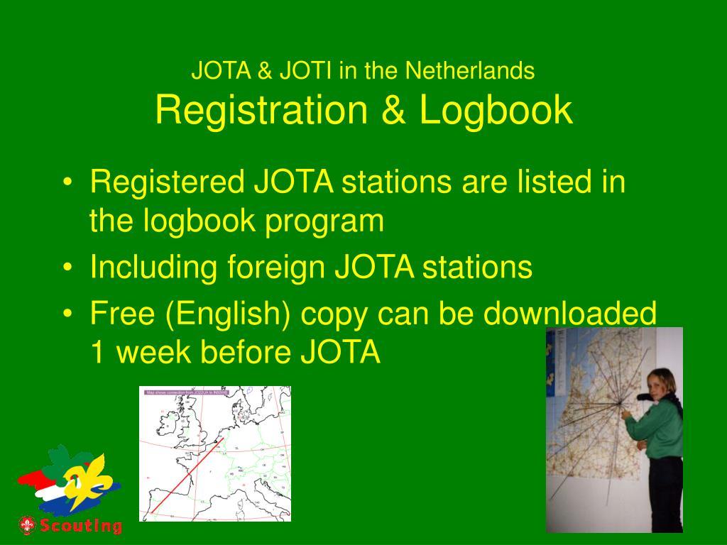JOTA & JOTI in the Netherlands