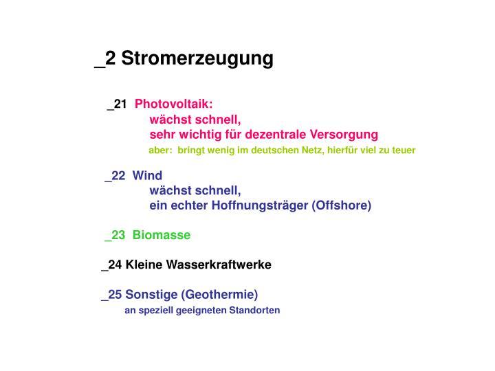 _2 Stromerzeugung