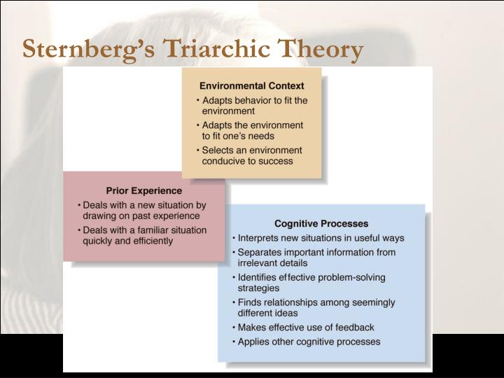 Sternberg's Triarchic Theory