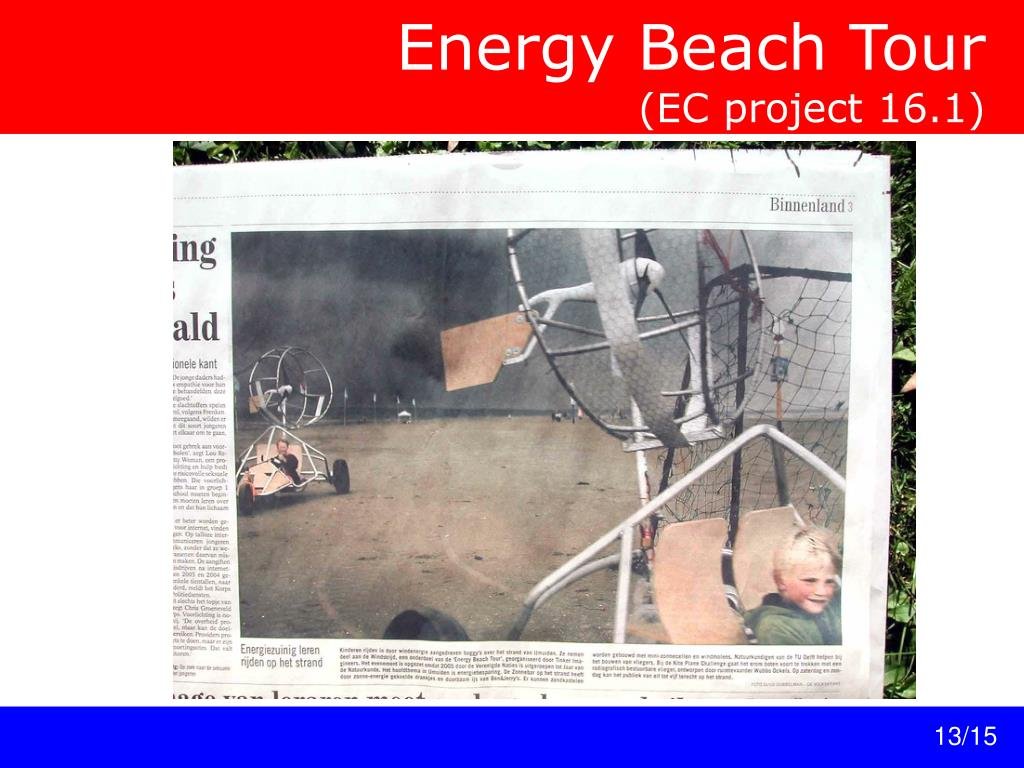 Energy Beach Tour