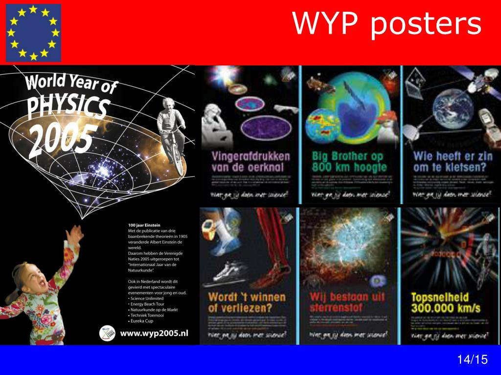 WYP posters