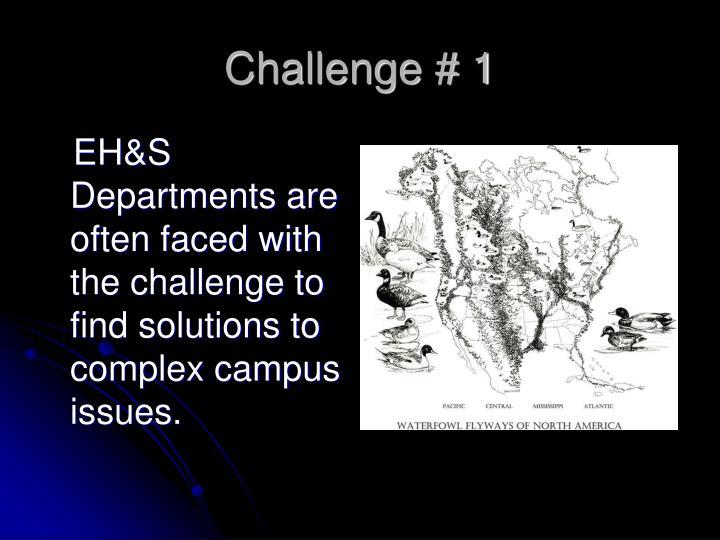 Challenge # 1