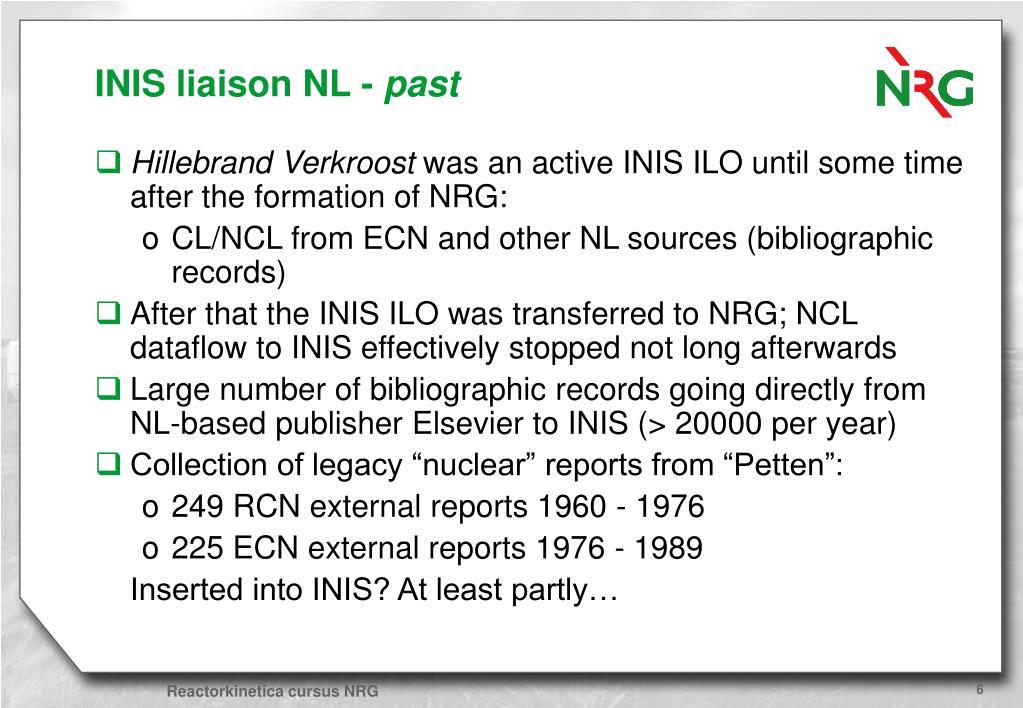 INIS liaison NL -