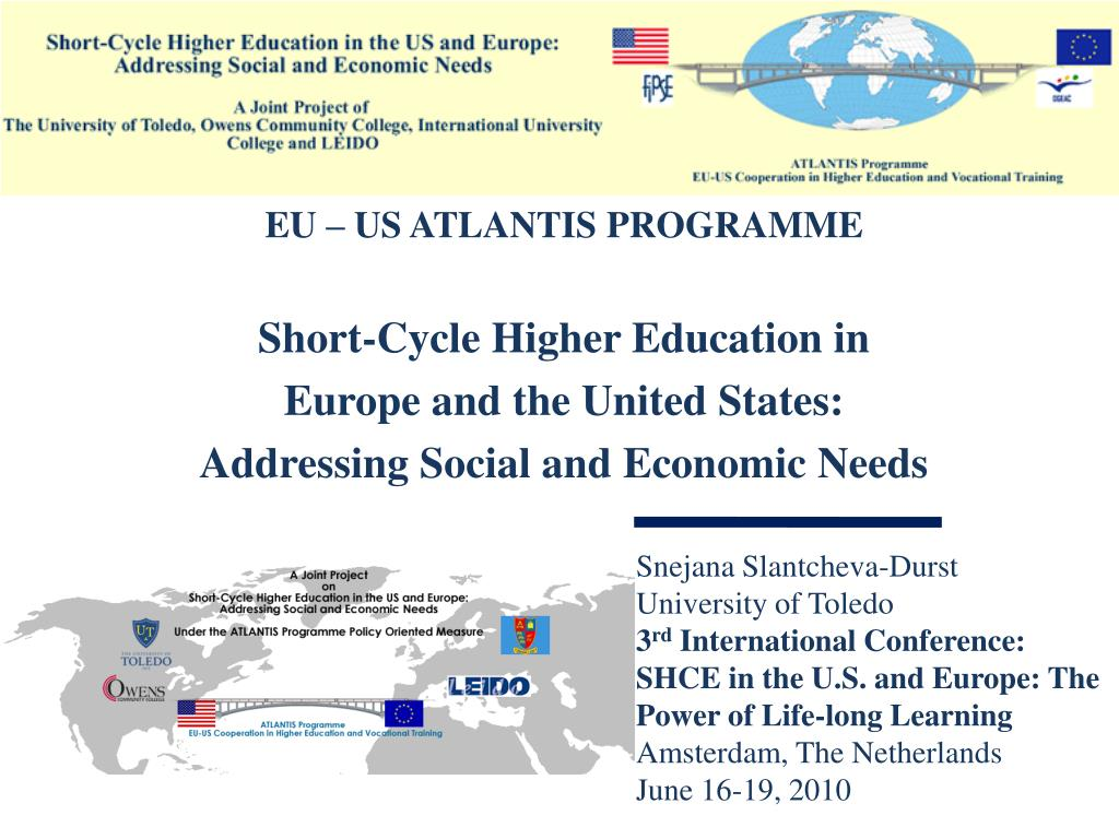 EU – US ATLANTIS PROGRAMME
