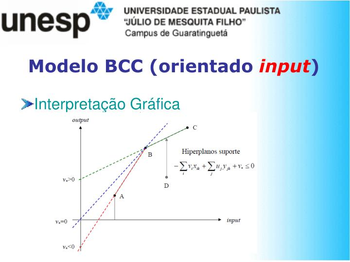 Modelo BCC (orientado