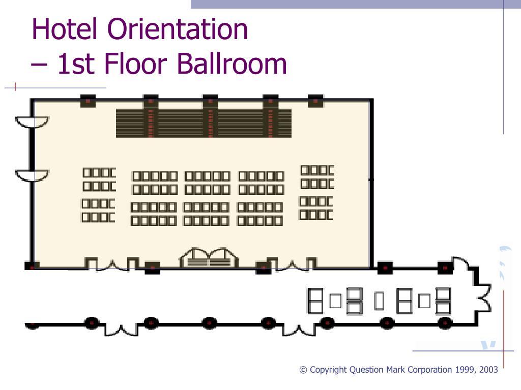 Hotel Orientation