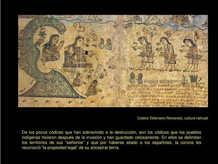 Códice Telleriano-Remensis, cultura náhuatl