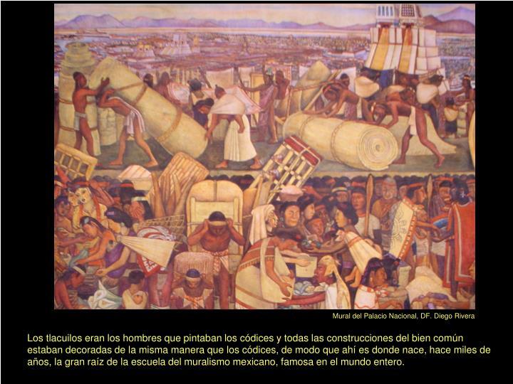 Mural del Palacio Nacional, DF. Diego Rivera