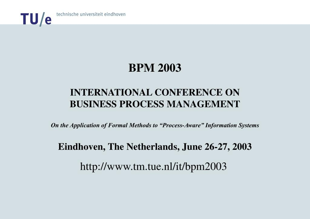 BPM 2003