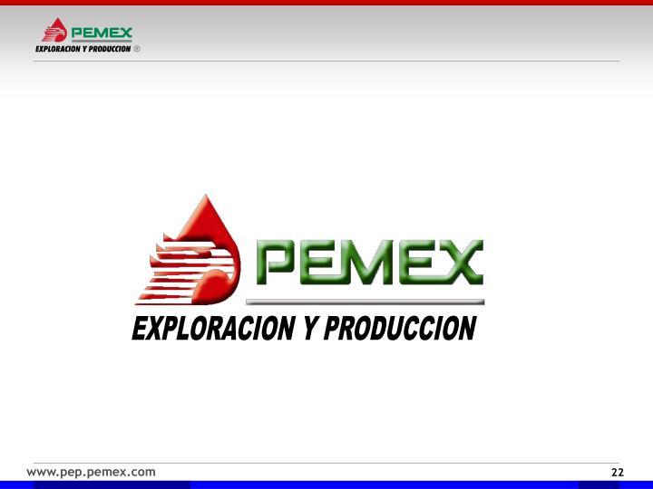 EXPLORACION Y PRODUCCION
