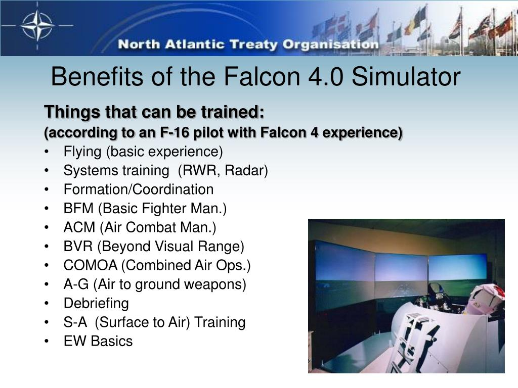 Benefits of the Falcon 4.0 Simulator