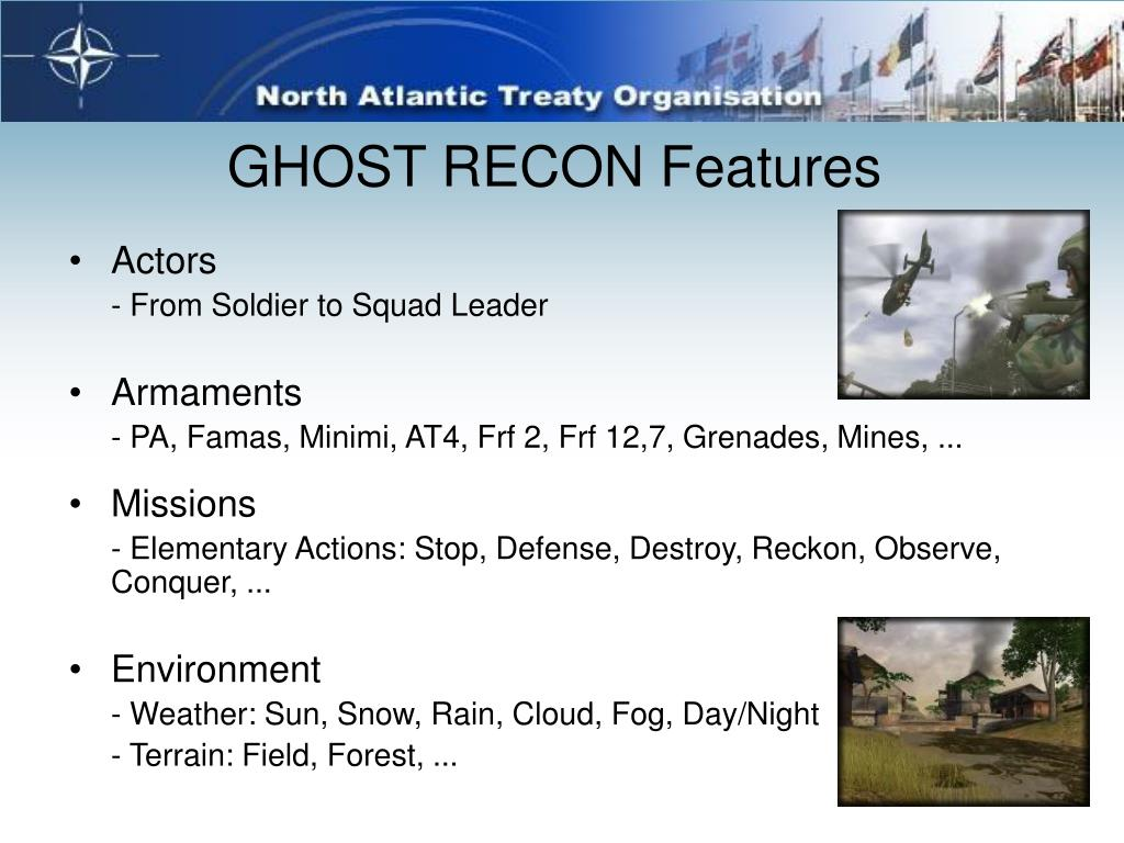 GHOST RECON Features