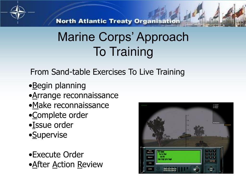 Marine Corps' Approach