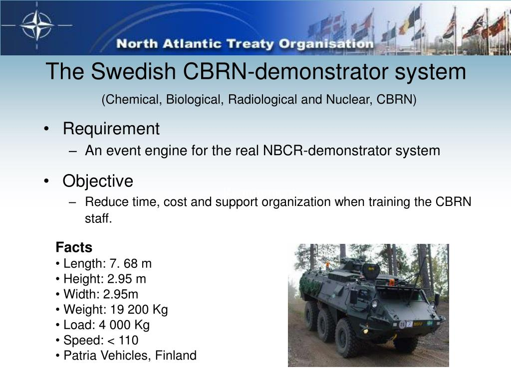 The Swedish CBRN-demonstrator system