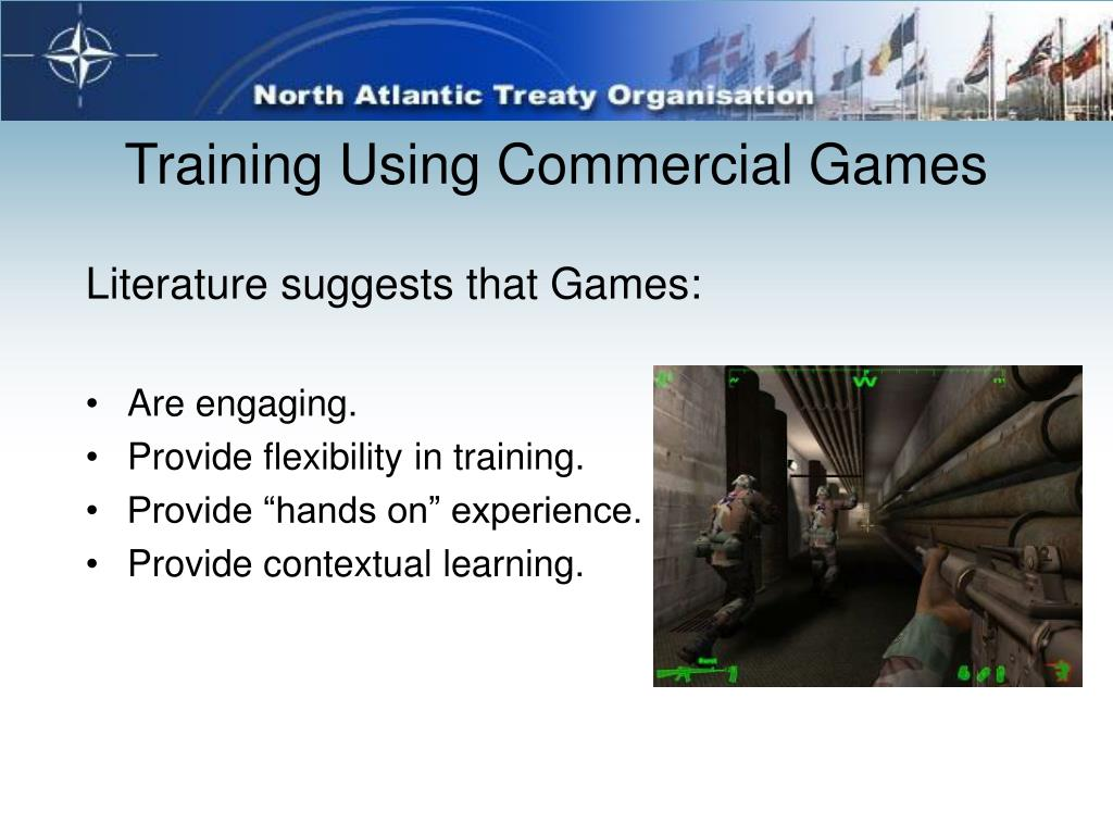 Training Using Commercial Games