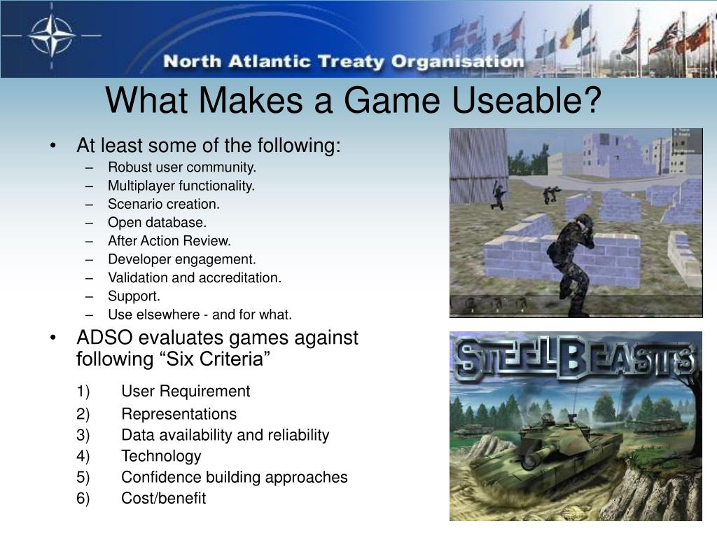 What Makes a Game Useable?