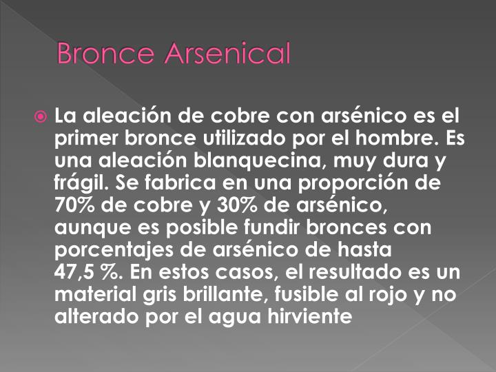 Bronce Arsenical