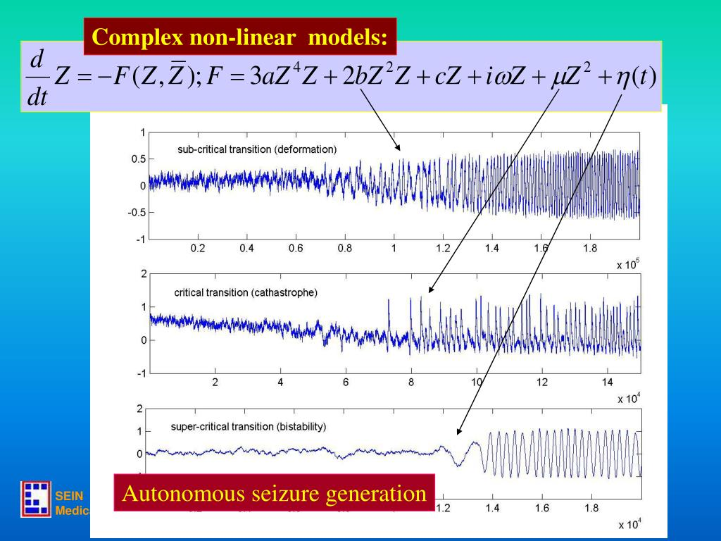 Complex non-linear  models: