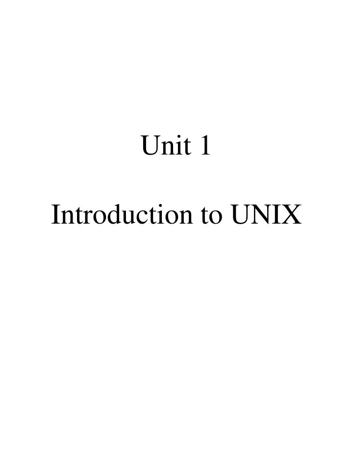 Unit 1 introduction to unix l.jpg