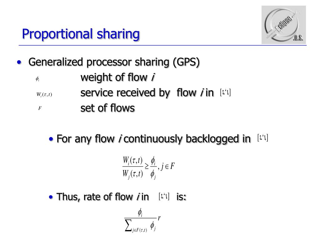 Proportional sharing